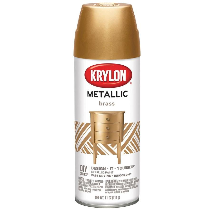 Krylon Brass Metallic Enamel 11-oz