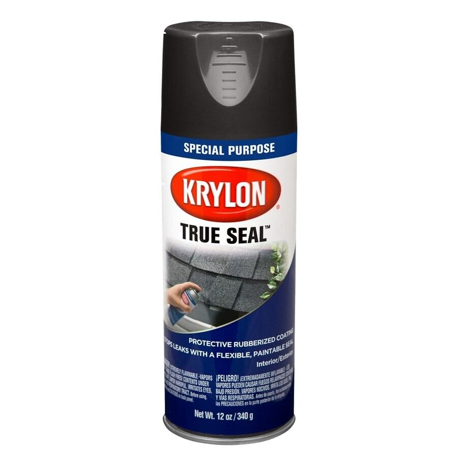 Krylon Black Spray Paint (Actual Net Contents: 12-oz)