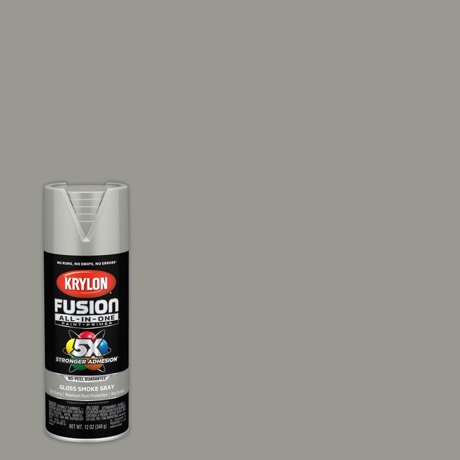 krylon fusion all in one general purpose gloss smoke gray spray Rust Off Spray krylon fusion all in one general purpose gloss smoke gray spray paint actual