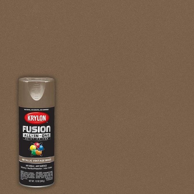 Vintage Br Metallic Spray Paint