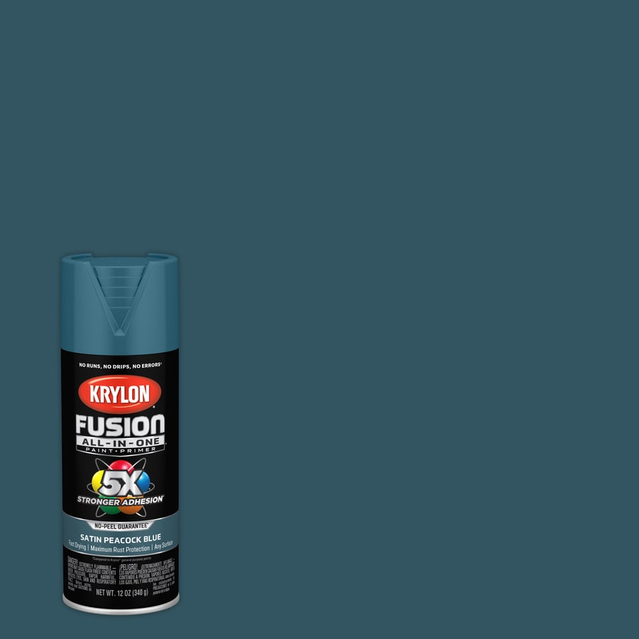 Shop krylon fusion all in one general purpose satin - What is satin paint ...