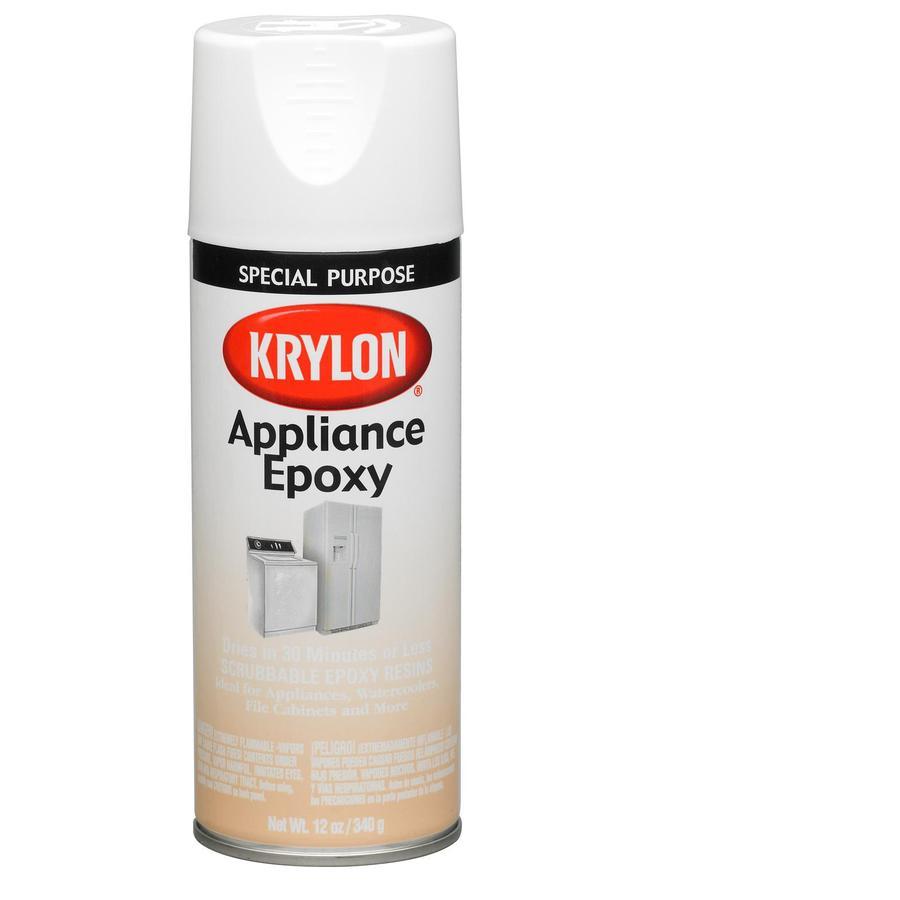 Krylon White Spray Paint (Actual Net Contents: 12-oz)