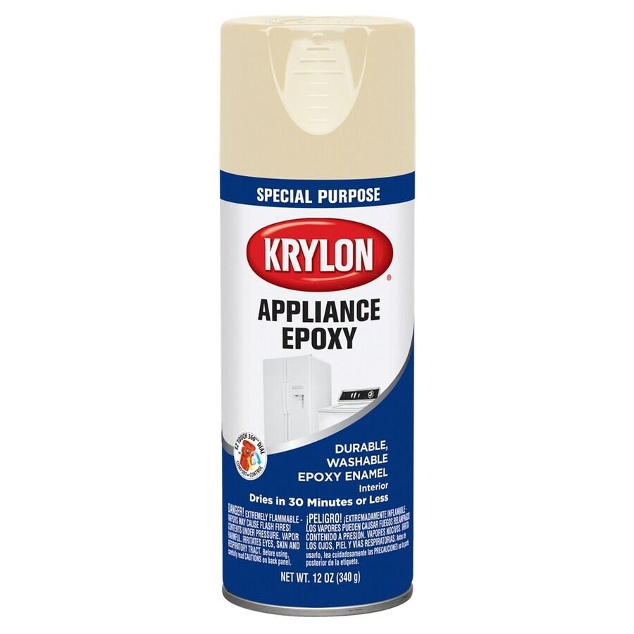 Krylon Almond Spray Paint (Actual Net Contents: 12-oz)