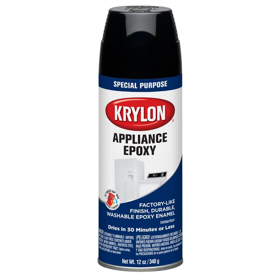 Krylon Black Spray Paint (Actual Net Contents: 12-oz)