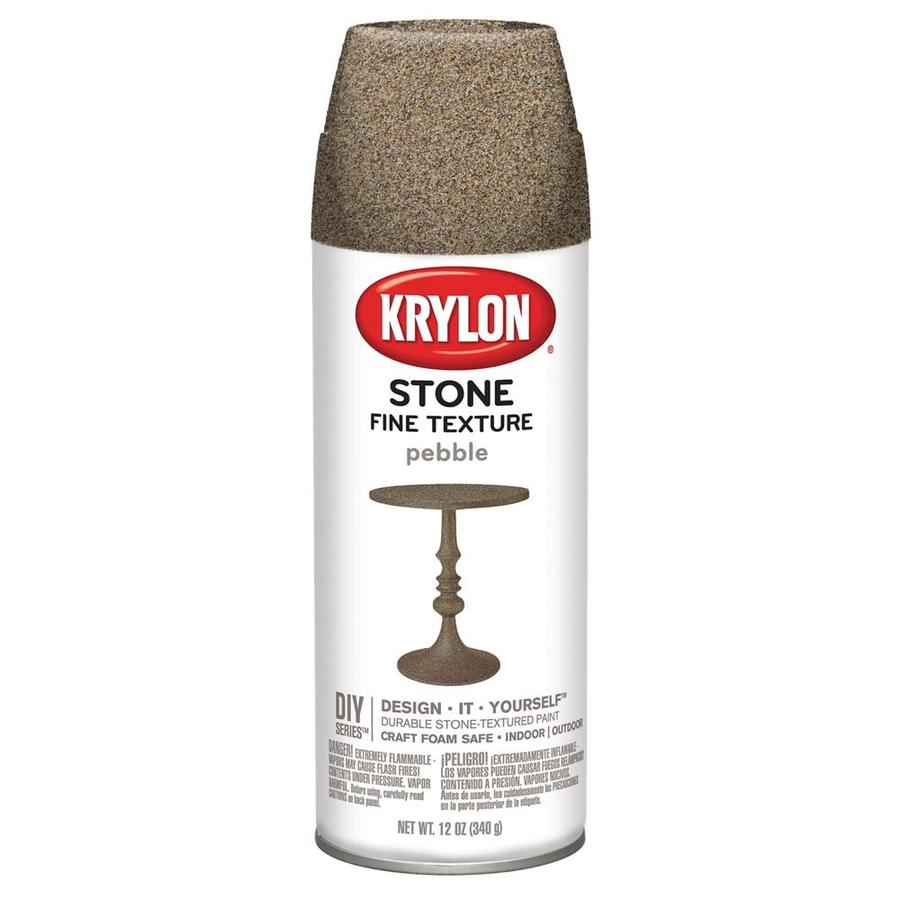 Krylon Pebble Textured Enamel Spray Paint (Actual Net Contents: 12-oz)
