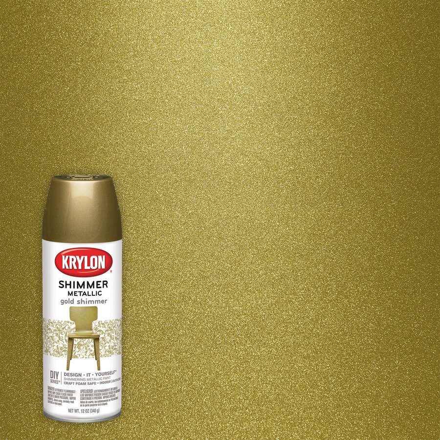 Krylon Gold Metallic Enamel Spray Paint (Actual Net Contents: 11.5-oz)