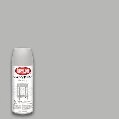 Matte Finish Paint >> Chalky Finish Matte Misty Gray Spray Paint Actual Net Contents 12 Oz