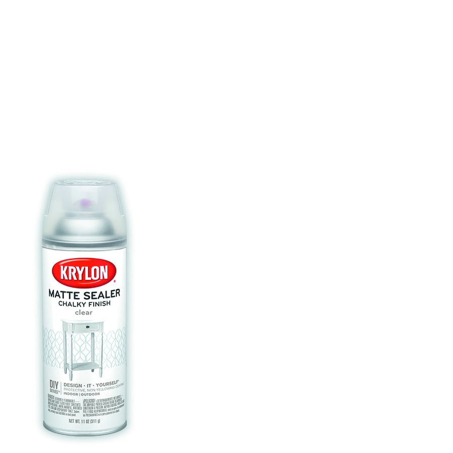 Krylon Clear Chalky Lacquer Spray Paint (Actual Net Contents: 11-oz)