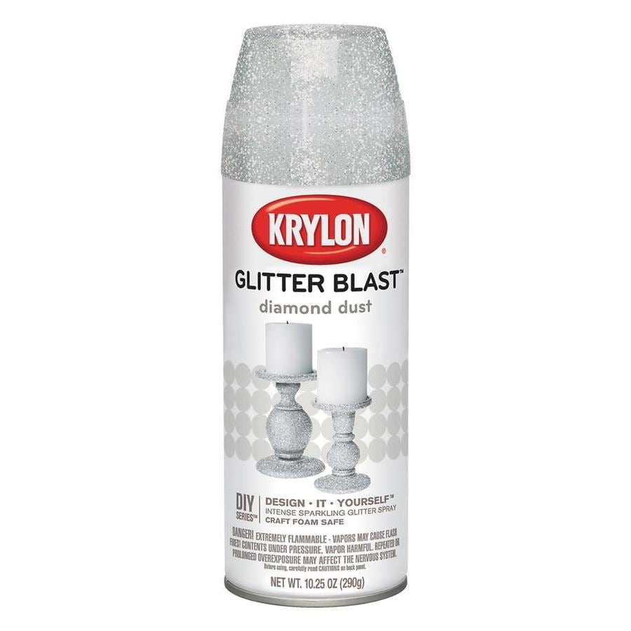 Krylon Diamond Dust Glitter Lacquer Spray Paint (Actual Net Contents: 10.25-oz)