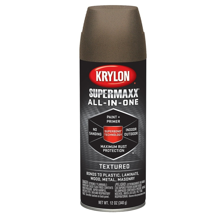 Krylon Dark Bronze Textured Enamel Spray Paint (Actual Net Contents: 12-oz)