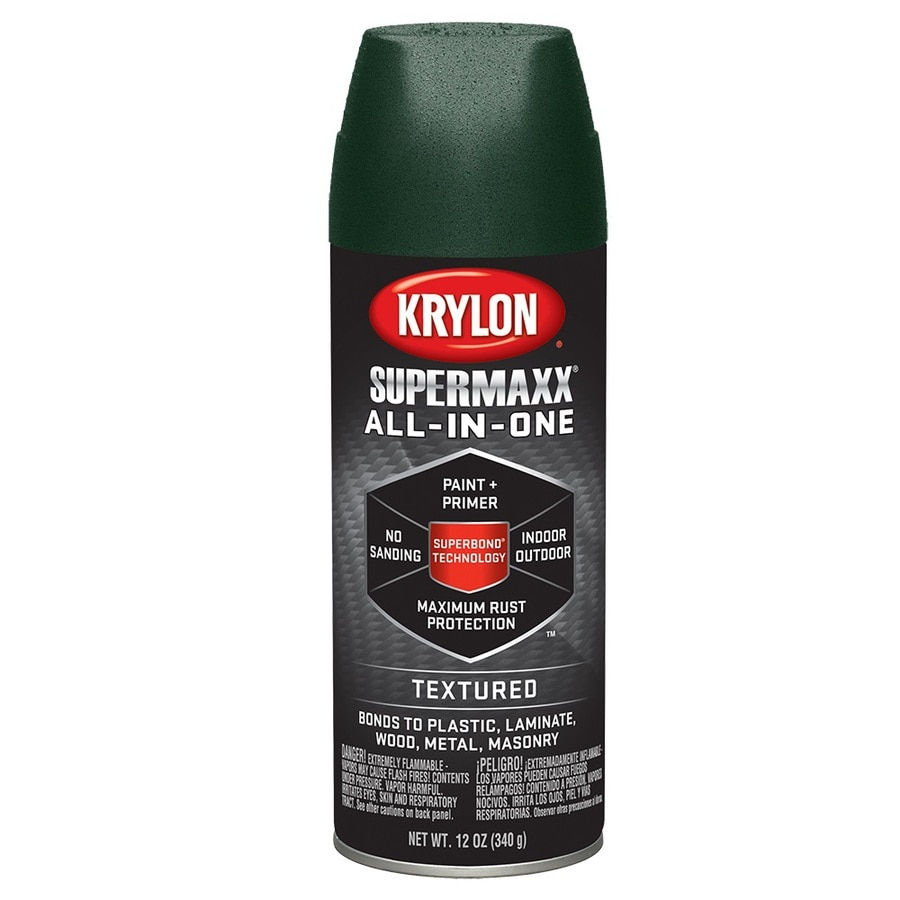 Krylon Hunter green Textured Enamel Spray Paint (Actual Net Contents: 12-oz)