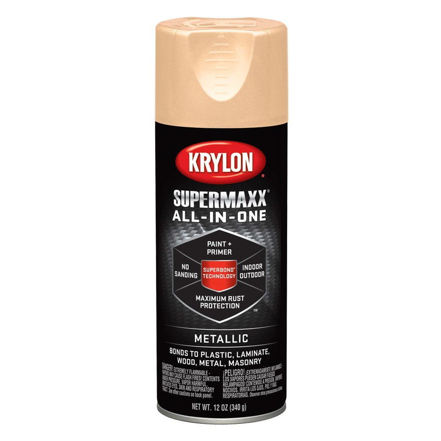 Krylon Copper Metallic Enamel Spray Paint (Actual Net Contents: 12-oz)