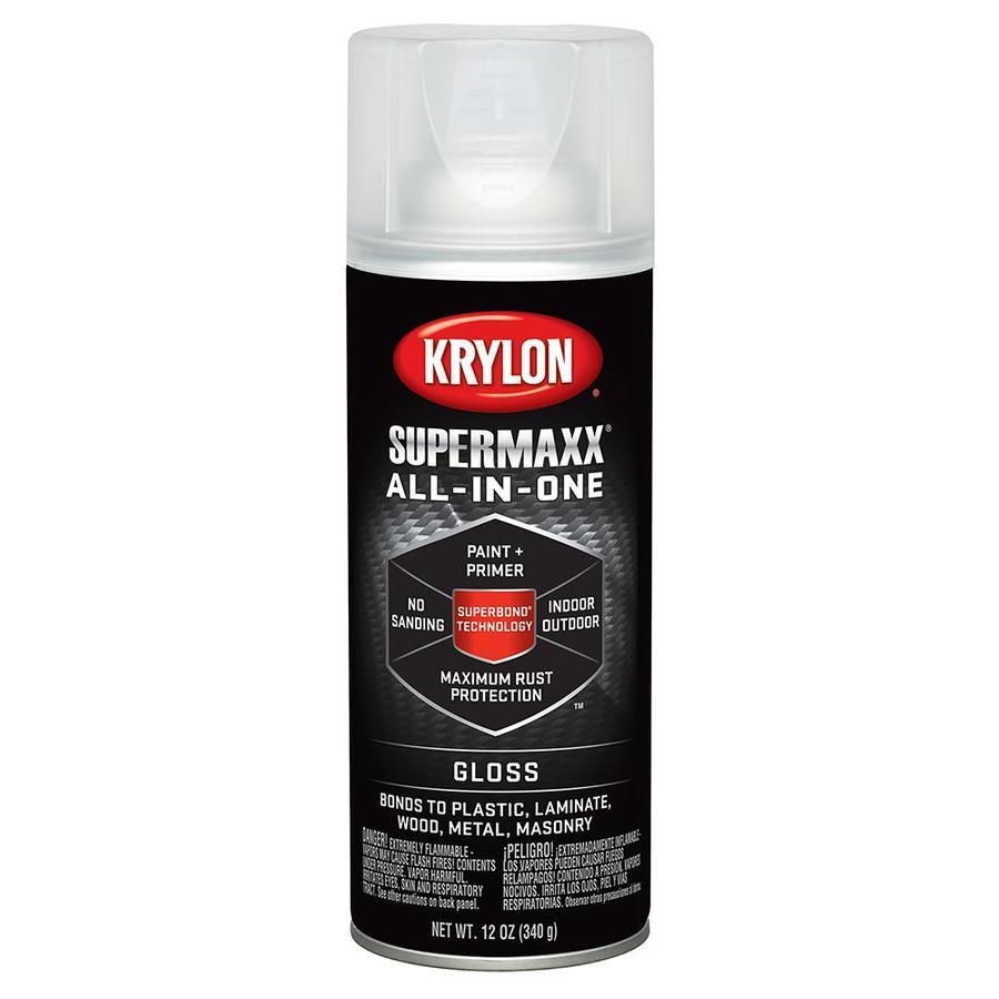 Krylon Clear Enamel Spray Paint (Actual Net Contents: 12-oz)