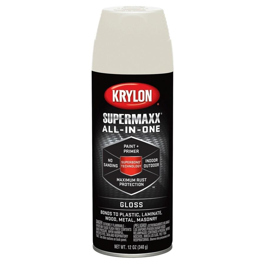 Krylon Almond Enamel Spray Paint (Actual Net Contents: 12-oz)