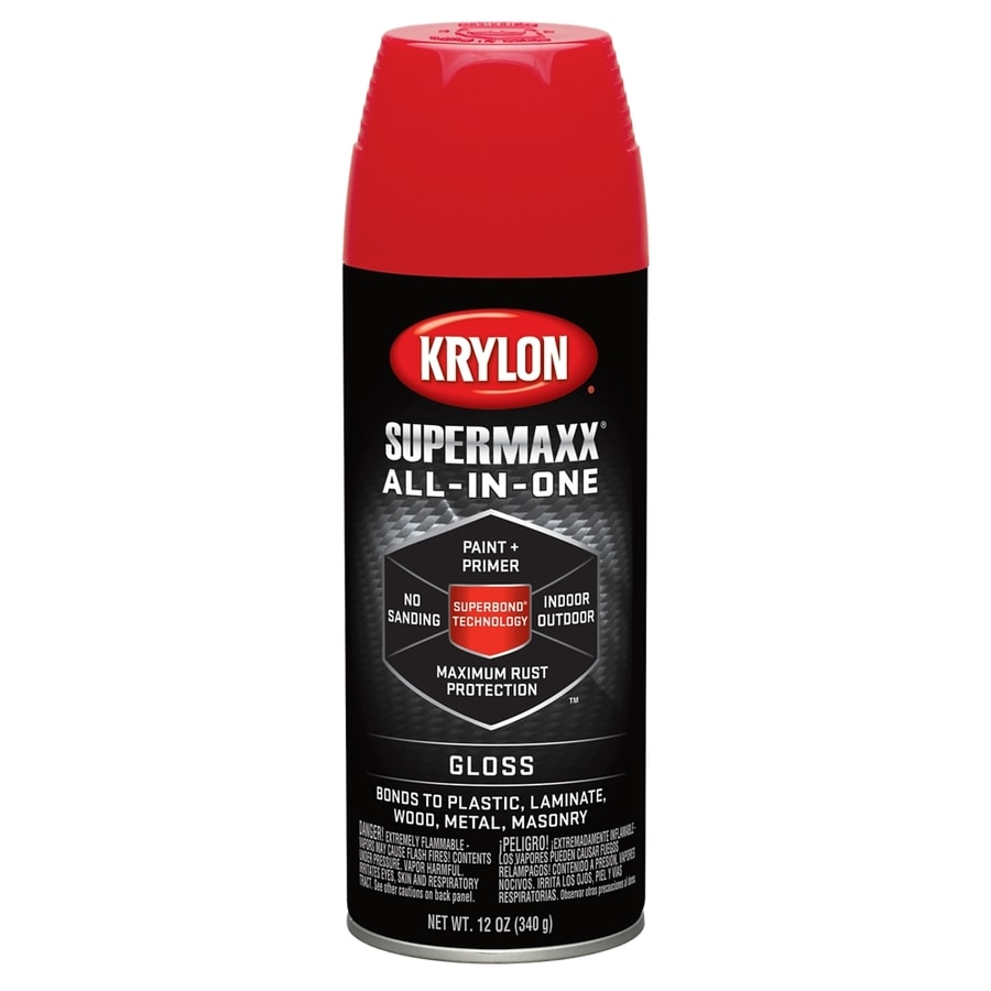 Krylon Banner Red Enamel Spray Paint (Actual Net Contents: 12-oz)