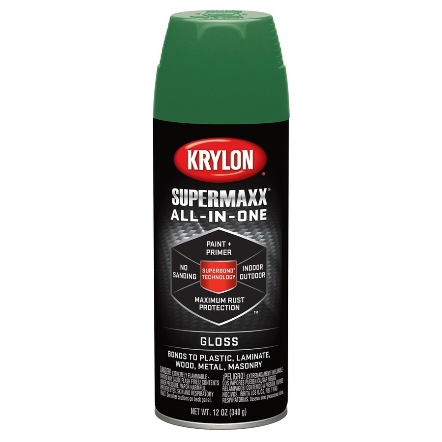Krylon Field Green Enamel Spray Paint (Actual Net Contents: 12-oz)