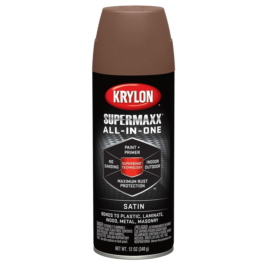Krylon Adobe Enamel Spray Paint (Actual Net Contents: 12 Oz.)