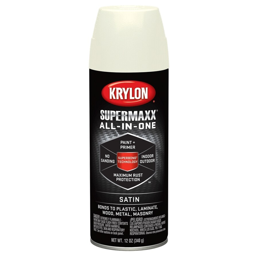 Krylon SuperMaxx Ivory Enamel Spray Paint (Actual Net Contents: 12-oz)