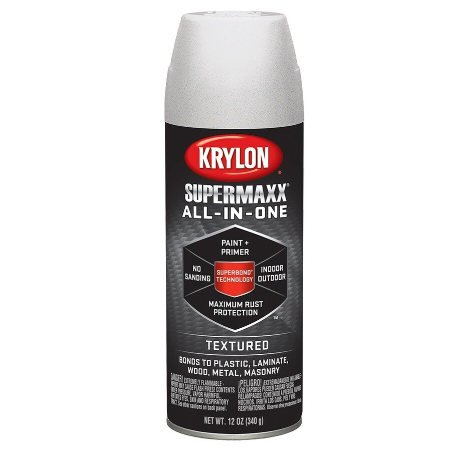 Shop Krylon White Textured Craft And Home Decor Spray Paint Actual