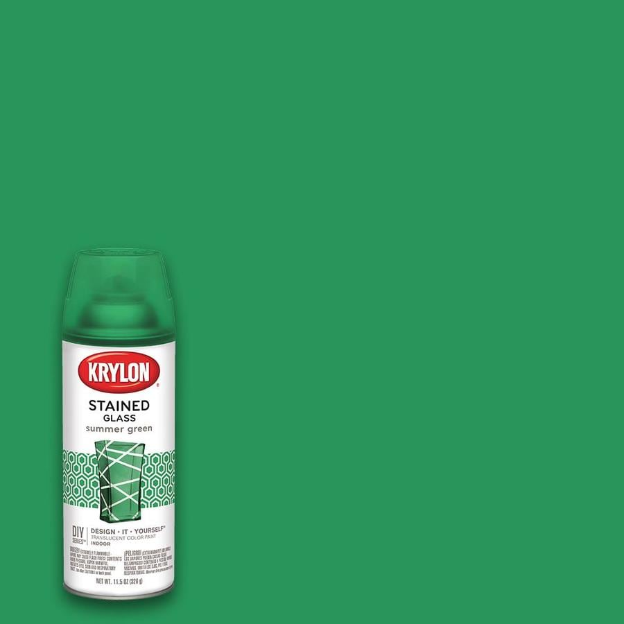 Krylon Summer Green Enamel Spray Paint (Actual Net Contents: 11.5-oz)