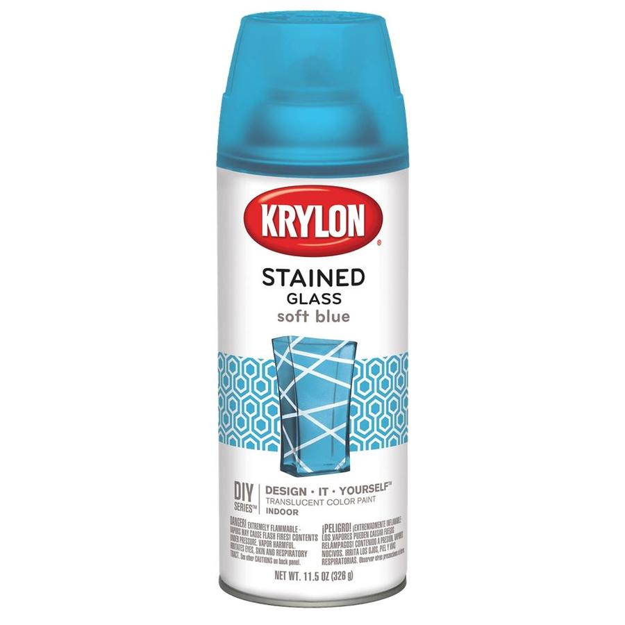 Krylon Soft Blue Enamel 11.5-oz