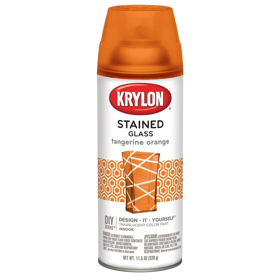 Krylon Tangerine Orange Enamel Spray Paint (Actual Net Contents: 11.5-oz)