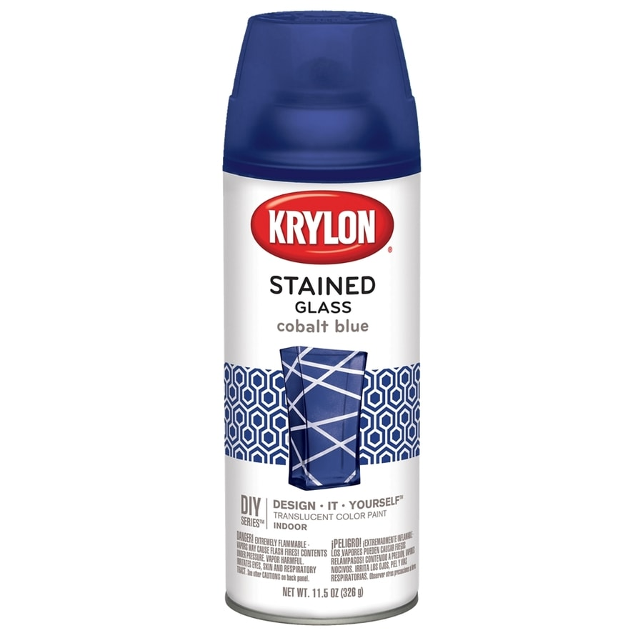 shop krylon cobalt blue enamel spray paint actual net contents 11 5. Black Bedroom Furniture Sets. Home Design Ideas