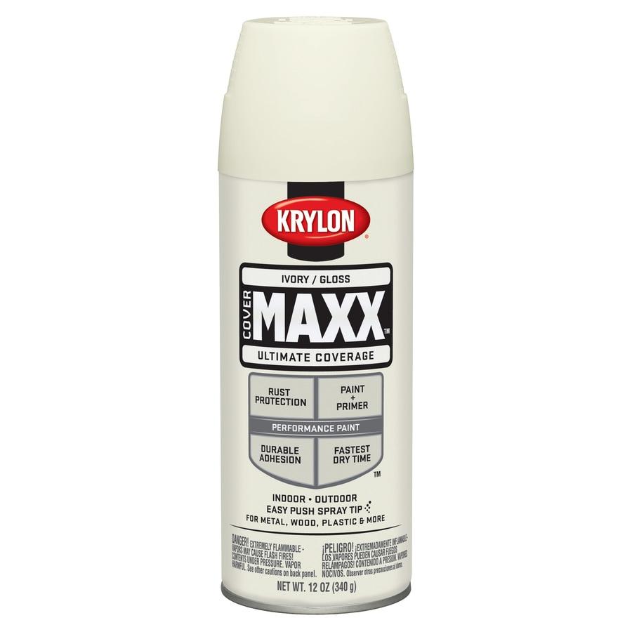 Krylon Ivory Enamel Spray Paint (Actual Net Contents: 12-oz)