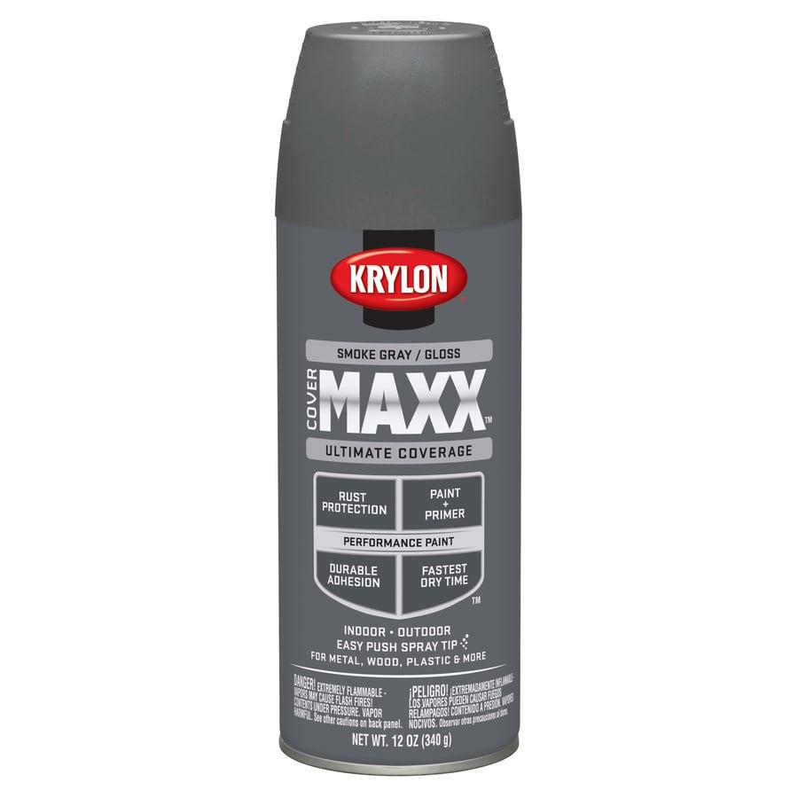 Krylon Smoke Gray Enamel Spray Paint (Actual Net Contents: 12-oz)