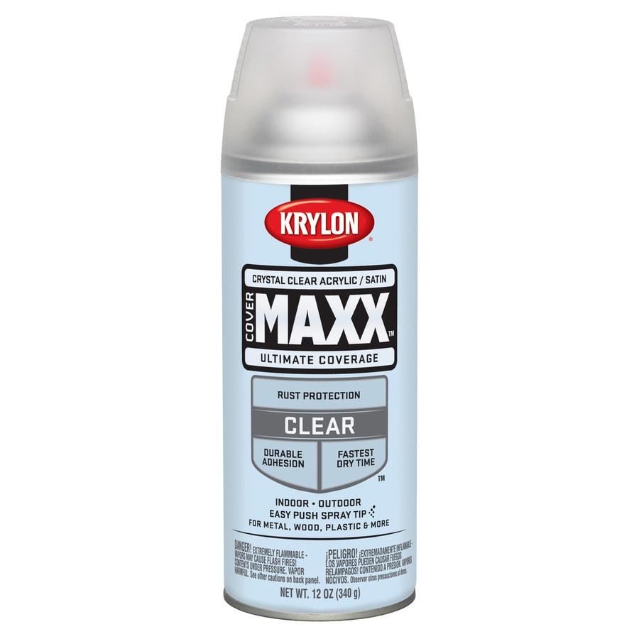 Shop Krylon Clear Enamel Spray Paint Actual Net Contents