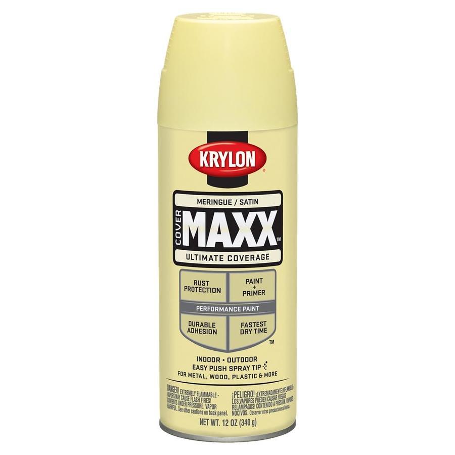 Krylon Meringue Enamel Spray Paint (Actual Net Contents: 12-oz)