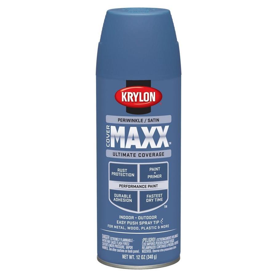 Krylon Periwinkle Enamel Spray Paint (Actual Net Contents: 12-oz)