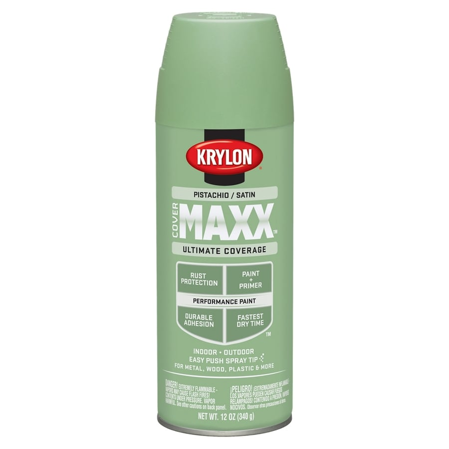 Shop Krylon Pistachio Enamel Spray Paint Actual Net Contents 12 Oz At