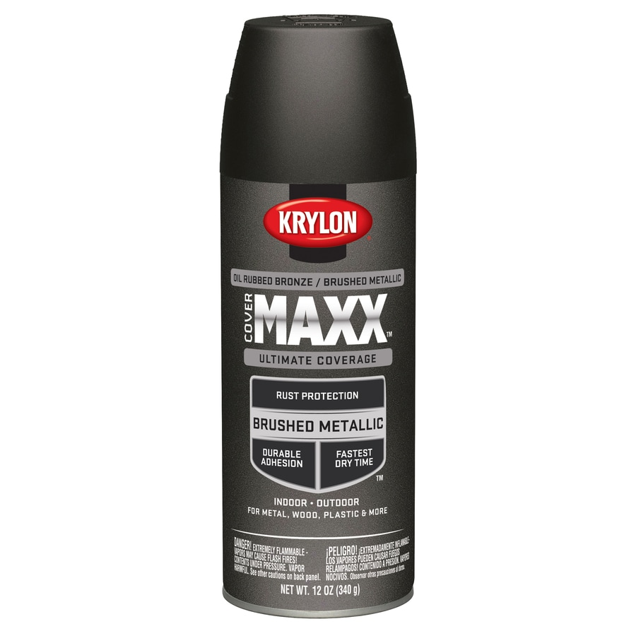Krylon Bronze Metallic Enamel Spray Paint (Actual Net Contents: 12-oz)