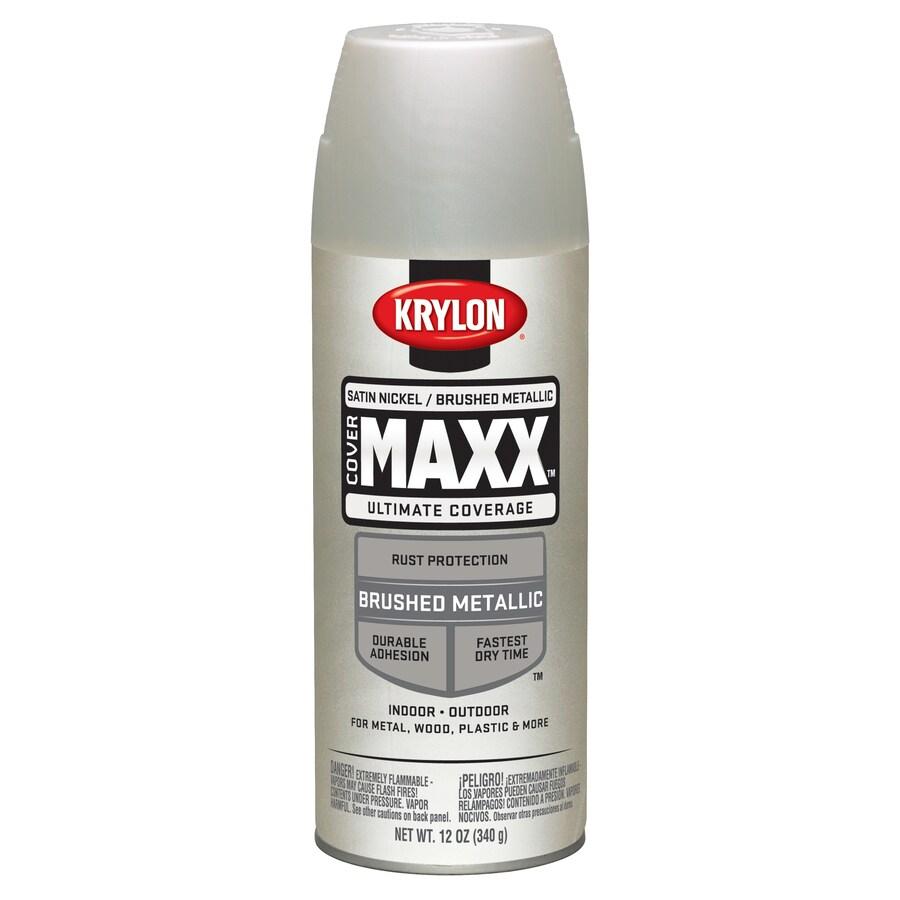 Shop Krylon Nickel Enamel Spray Paint Actual Net Contents