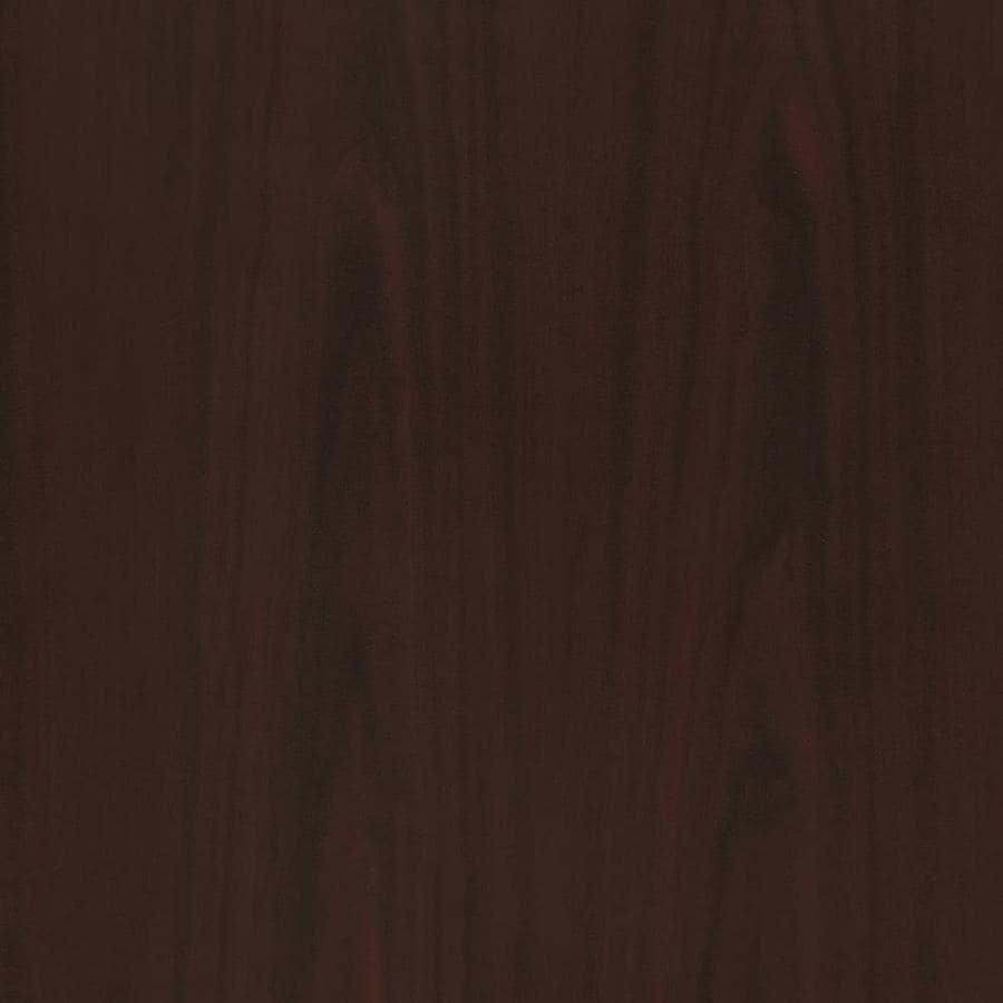 Wilsonart 48-in x 120-in Empire Mahogany Laminate Kitchen Countertop Sheet
