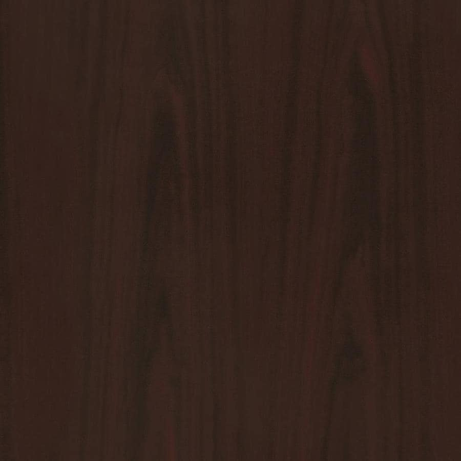 Wilsonart 48-in x 144-in Empire Mahogany Laminate Kitchen Countertop Sheet