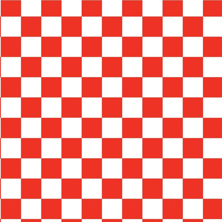 Shop Wilsonart 48 In X 96 In Red And White Checkerboard