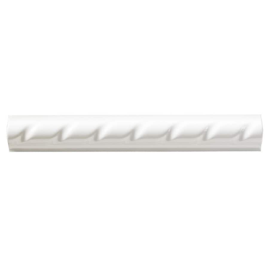 United States Ceramic Tile Color White Ceramic Wall Tile (Common: 3-in x 6-in; Actual: 6-in x 0.875-in)
