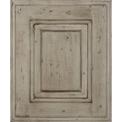 Durham 14.5-in x 17.5-in Appaloosa Painted Cherry Raised Panel Cabinet  Sample