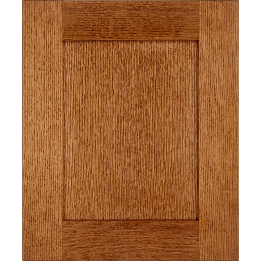 Schuler Cabinetry Prairie 17.5-in x 14.5-in Chestnut Shaker Cabinet Sample
