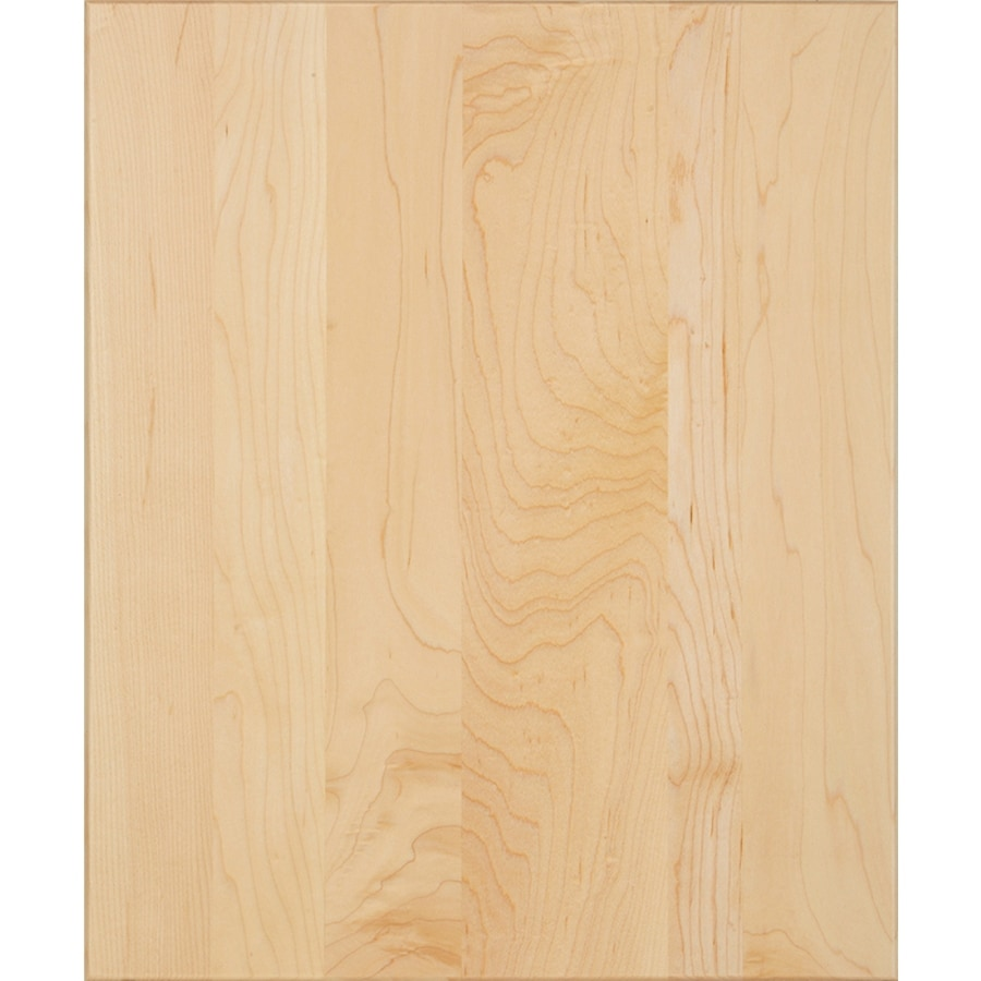 Schuler Cabinetry Capistrano 17.5-in x 14.5-in Natural Maple Slab Cabinet Sample