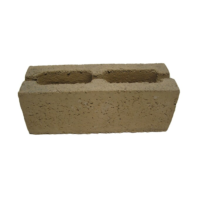 Quikrete 6 In X 8 In X 16 In Standard Cored Concrete Block In The Concrete Blocks Department At Lowes Com