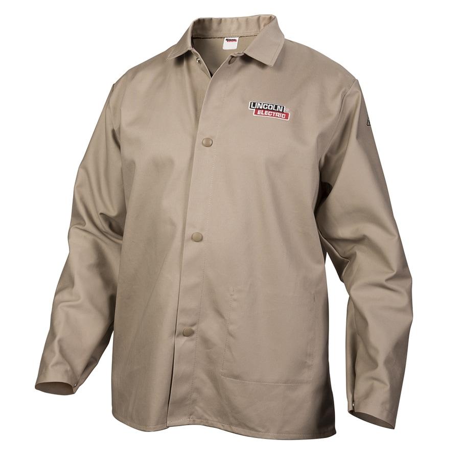 Lincoln Electric Khaki Welding Jacket