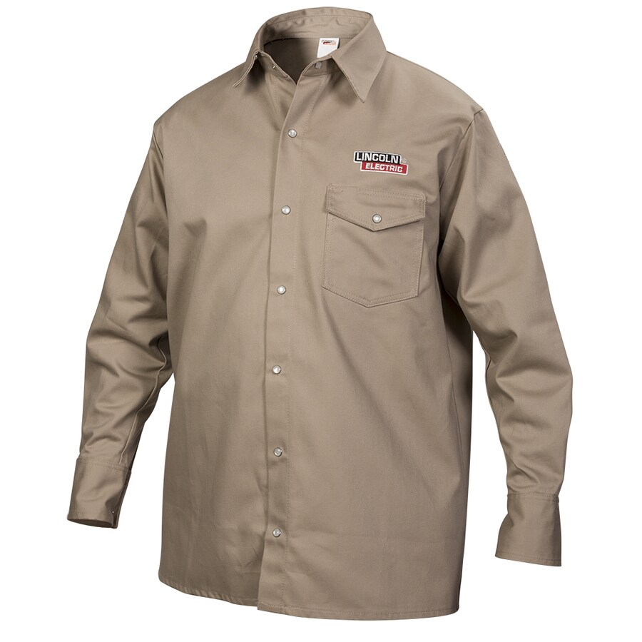 Lincoln Electric Khaki Welding Shirt