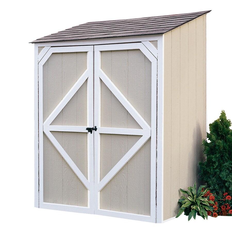 Backyard Organizer 5 Ft X 4 Wood Storage Shed