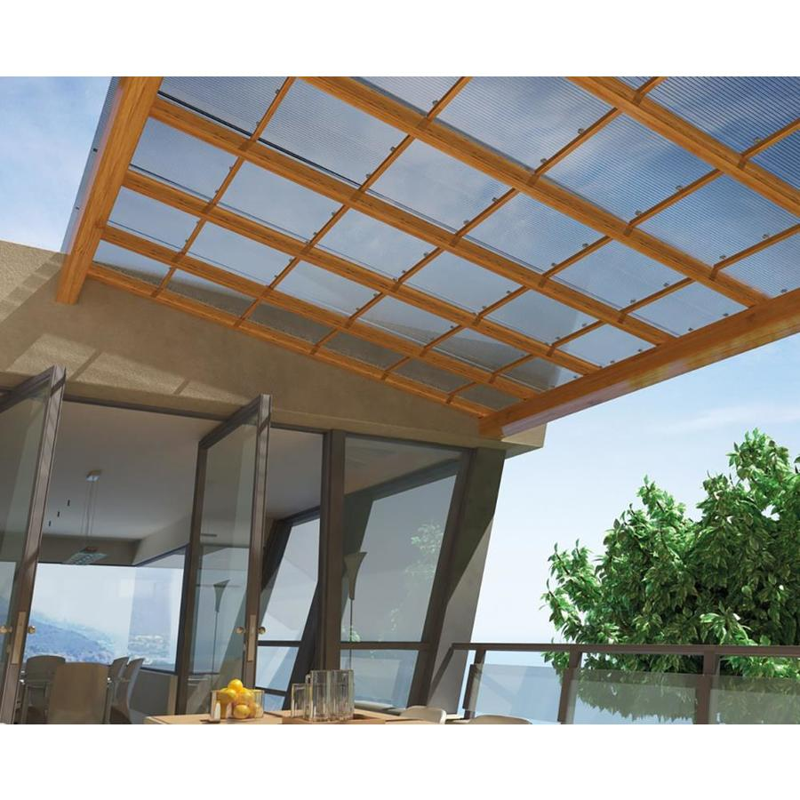 Multi Wall 6mm Panel Clear 4 Ft X 8 Corrugated Polycarbonate Plastic Roof