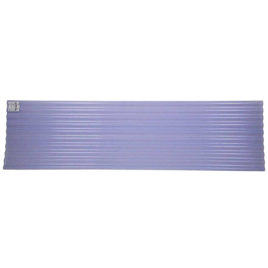 Shop Tuftex SeaCoaster 2.17-ft x 12-ft Corrugated PVC Roof Panel at ...