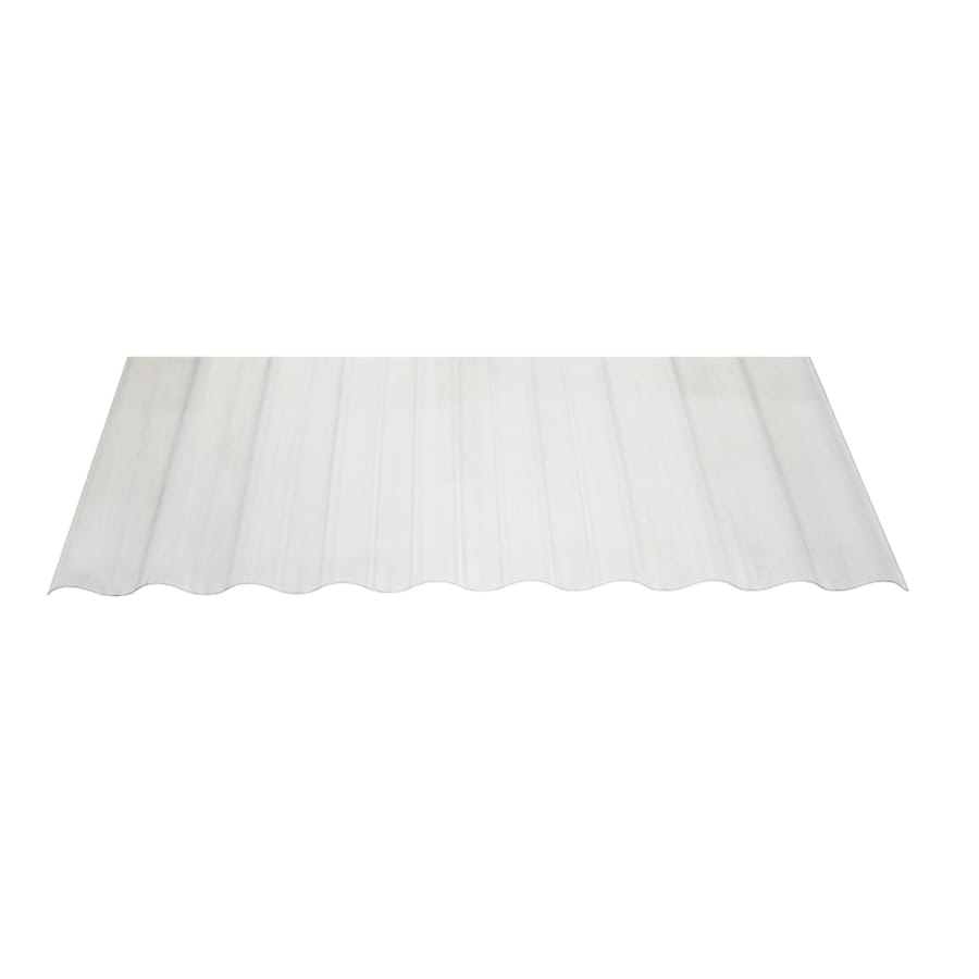 Tuftex SeaCoaster 2.17 Ft X 12 Ft Corrugated Pvc Plastic Roof Panel