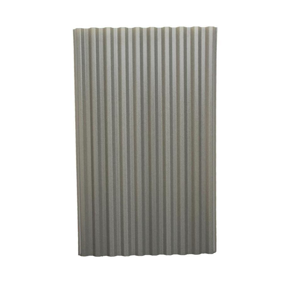 Tuftex PolyDecor 2 17-ft x 3 5-ft Corrugated Polycarbonate Plastic